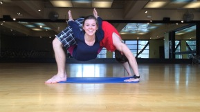 Yoga can always be more fun with a partner.